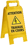 Attention travaux en cours